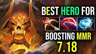 INSANE DAMAGE [Clinkz] Best Heroes For Boosting MMR in 7.18 By Moon | Dota 2 FullGame