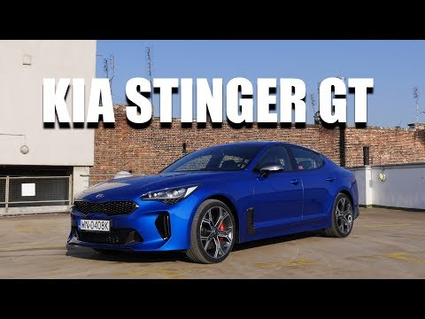 KIA Stinger GT V6 (ENG) - Test Drive and Review