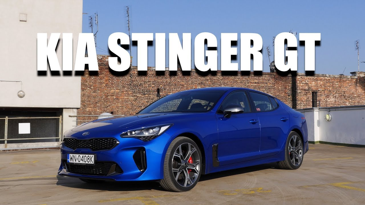KIA Stinger GT V6 (ENG) – Test Drive and Review