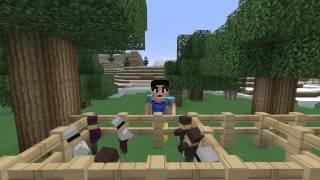 Minecraft Masalları- Pamuk Prenses Ve Yedi Cüceler