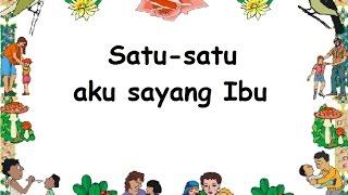 SAYANG SEMUA (LIRIK) - Lagu Anak - Cipt. Pak Kasur - Musik Pompi S.