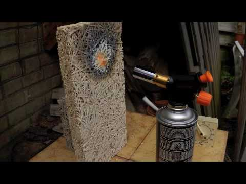 Video Fire Test Building Material