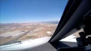 boeing 737 800 visual approach gran canaria runway 03l goprohero3