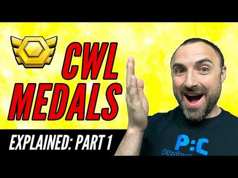 Clash Of Clans • CWL MEDALS EXPLAINED!