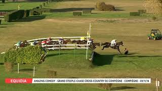 Vidéo de la course PMU GRAND STEEPLE-CHASE CROSS-COUNTRY DE COMPIEGNE