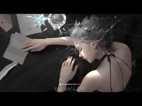 Photoshop painting process - nap [GhostBlade art]