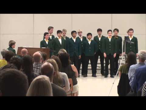 2013 Sehome Mens Choir sings