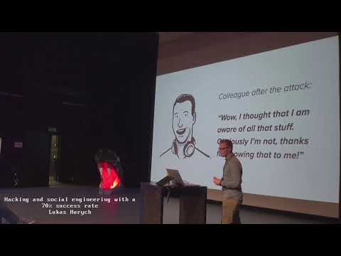 Image from Hacking and social engineering with a 70% success rate