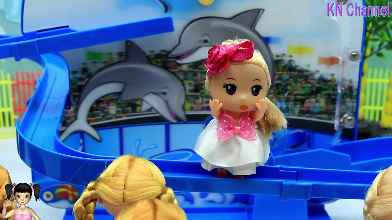 BabyBus – Tiki Mimi và Trò Chơi xiếc cá heo thật vui nhộn