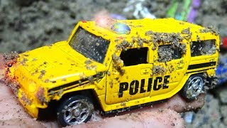 The car is dirty, washed car B383M - Toys for kids