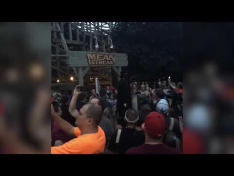 Mean Streak at Cedar Point Closes: Facebook Live Stream September 16th, 2016