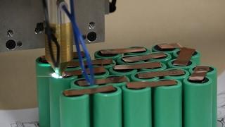 Автоматизированная сварка аккумуляторных батарей, с числовым программным управлением