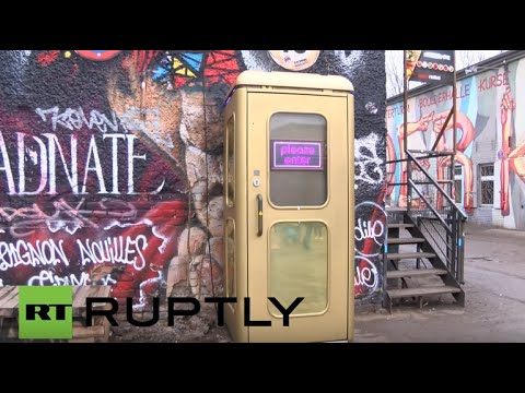 Germany: Check out the world's smallest disco inside a Berlin phone box
