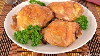 Куриные бедрышки фаршированные сыром и чесноком