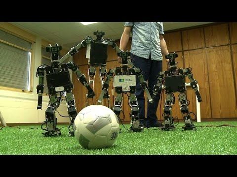 France Gears Up For RoboCup In China