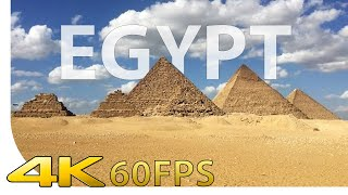[4K] Giza - Pyramid Complex - Cairo - Egypt - Cinematic | [UHD] [Ultra HD] [2160p]
