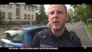 Appels d urgence Mulhouse video surveillance contre delinquance 2016 HDTV 720p x264