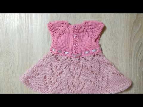 Вязаная одежда для кукол беби бон спицами с описанием и схемами