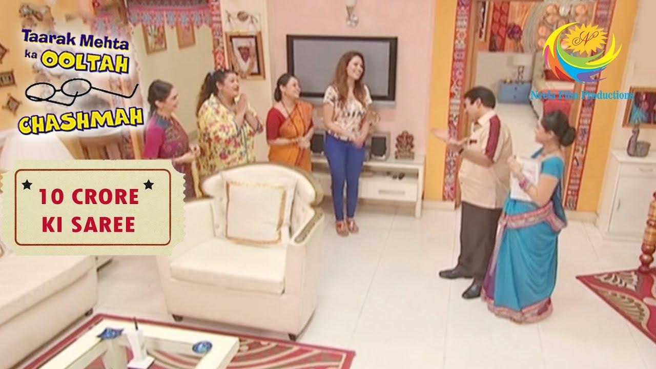Gokuldham Ladies Want To Go To An Exhibition | Taarak Mehta Ka Ooltah Chashmah | 10 Crore Ki Saree