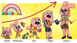 ✅The Amazing World Of Gumball Grown Up Evolution | Zilo TV