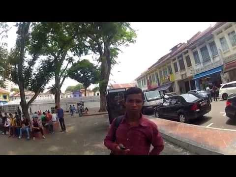 Street photography in little india Singapore (GOPRO HD2)