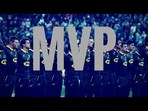 SPRINGBOKS MOST VALUABLE PLAYERS