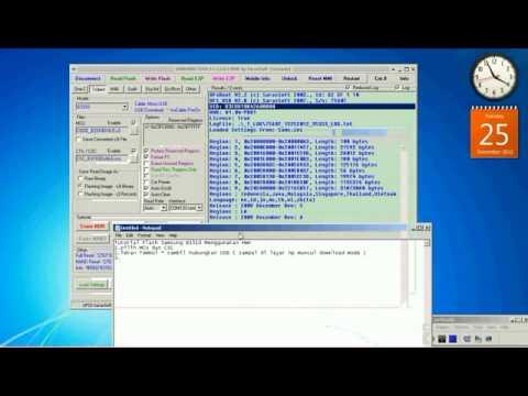 Tutorial Flash Samsung B3310 Menggunakan HWK
