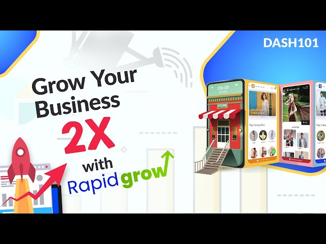 How to double your business with the Rapid grow plan?