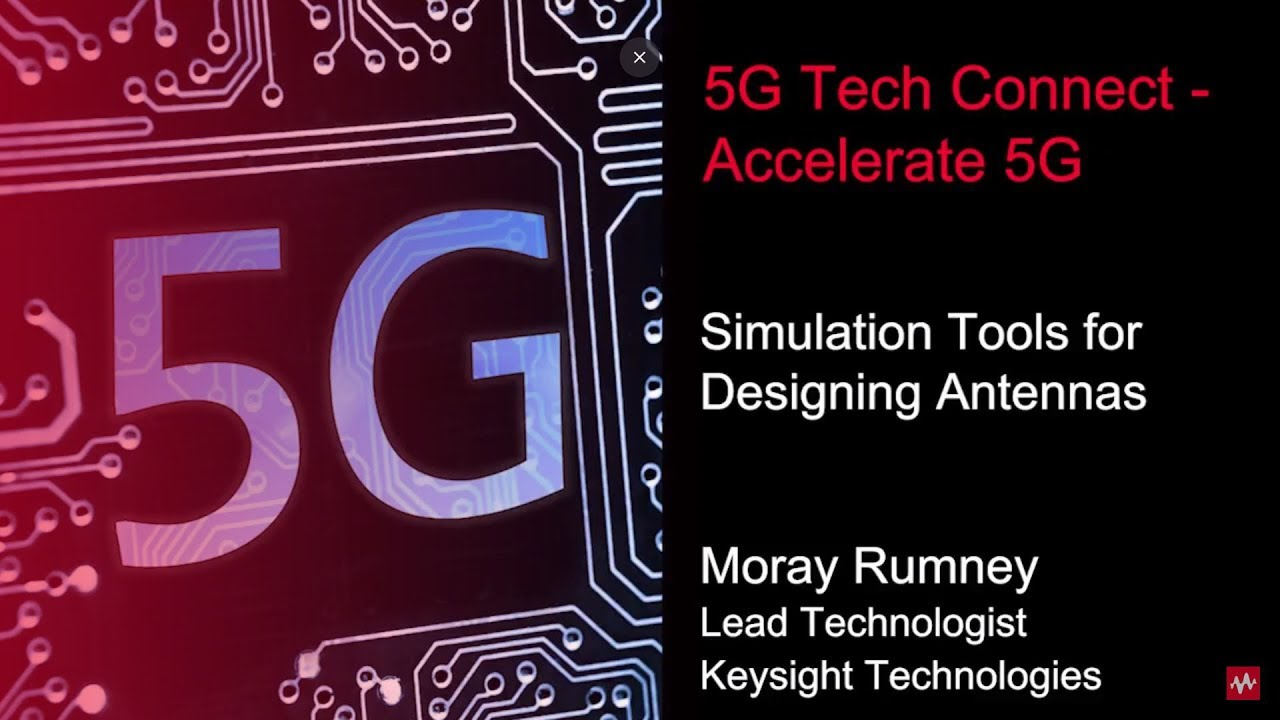 Moray Rumney discusses SystemVue antenna array analysis at 5G Tech Connect