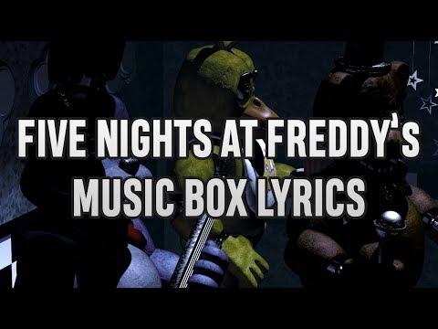 Freddy's Music Box Lyrics!