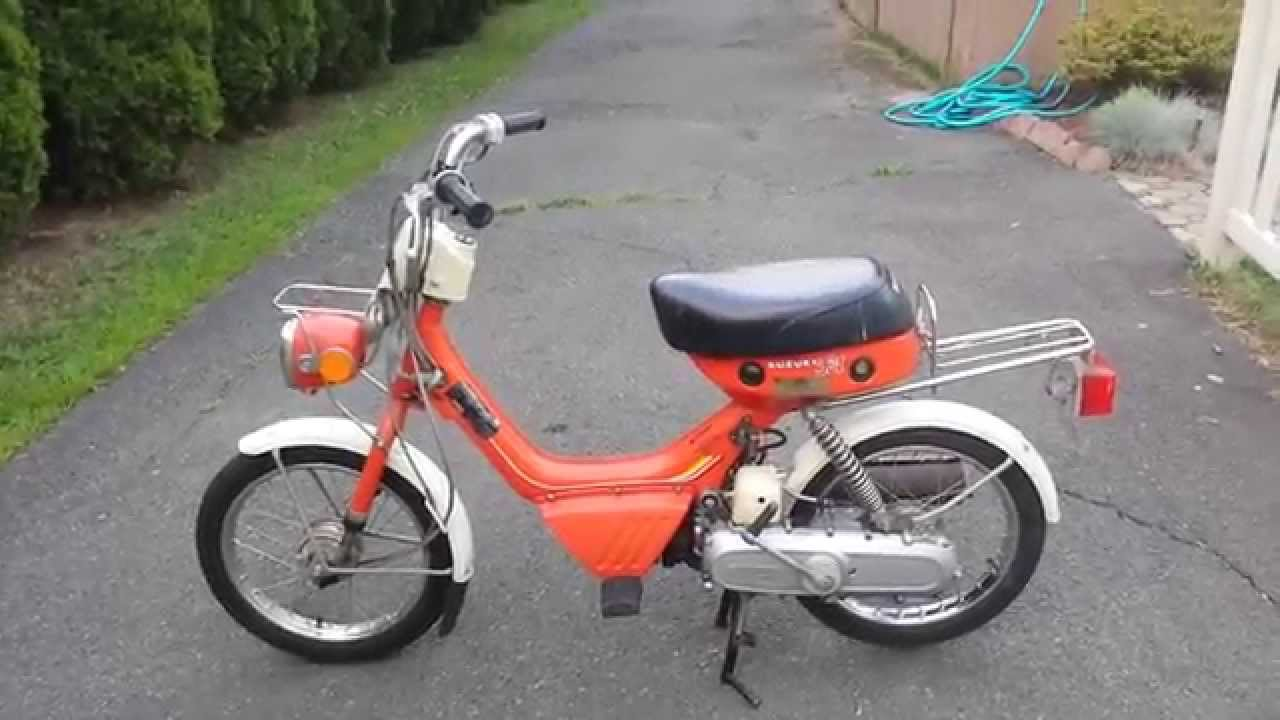 1980 Suzuki Fa50 - YouTube
