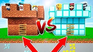 CASTILLO NOOB VS CASTILLO PRO  MINECRAFT