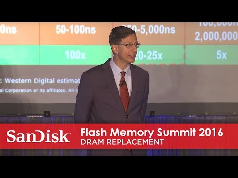 Flash Memory Summit 2016:  DRAM replacement with Universal Memory