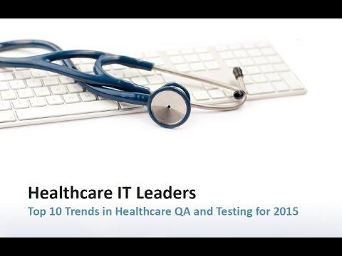 Healthcare QA and Testing Webinar