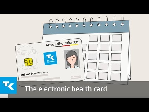 The electronic health card