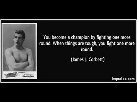 James J Corbett - The Gentleman Prizefighter.