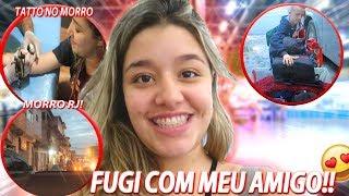 FUGI PRA PARA CABO FRIO | FIZ TATTO NO MORRO DO RJ!!