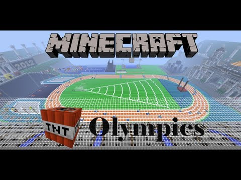 Minecraft TNT Olympics Decathlon feat. CaptainSparklez, AntVenom and Etho (Part 1 of 3)