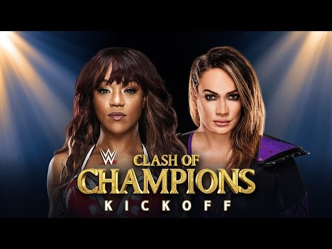 Clash of Champions Kickoff: Sept. 25, 2016