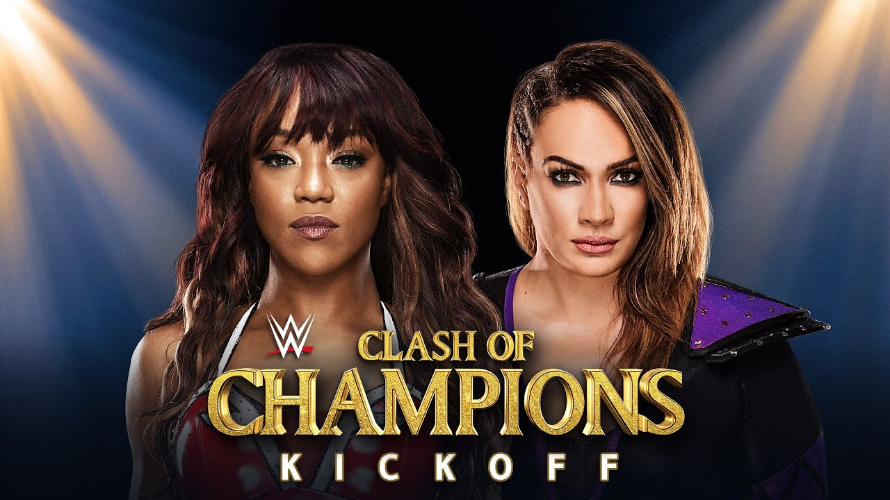 Image result for clash of champions kickoff