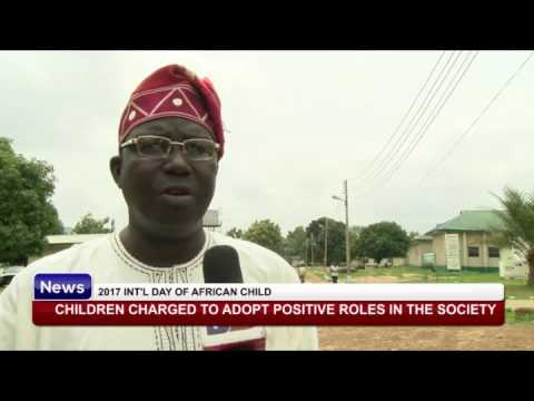 DAY OF THE AFRICAN CHILD: Children charged to adopt positive roles in the society