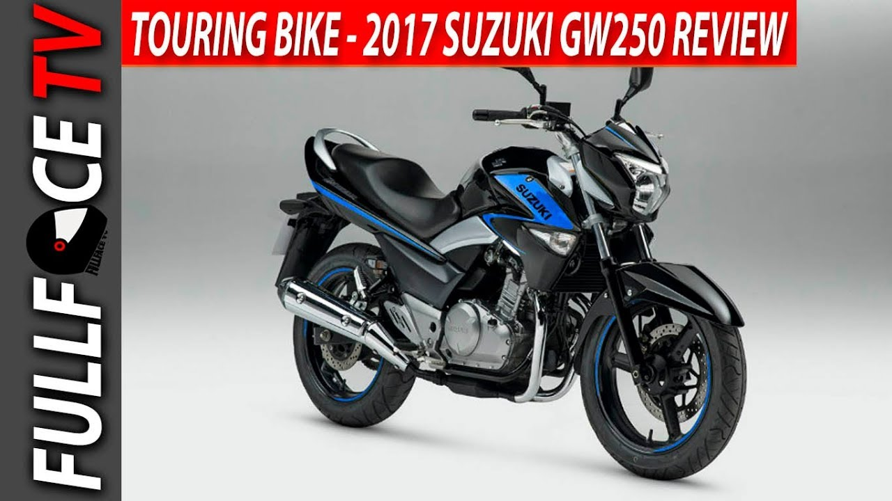 2017 suzuki gw250 top speed and review - youtube