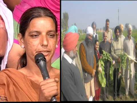 Women led Organic Farming Movement: Punjab Speaks PTC TV Part 2