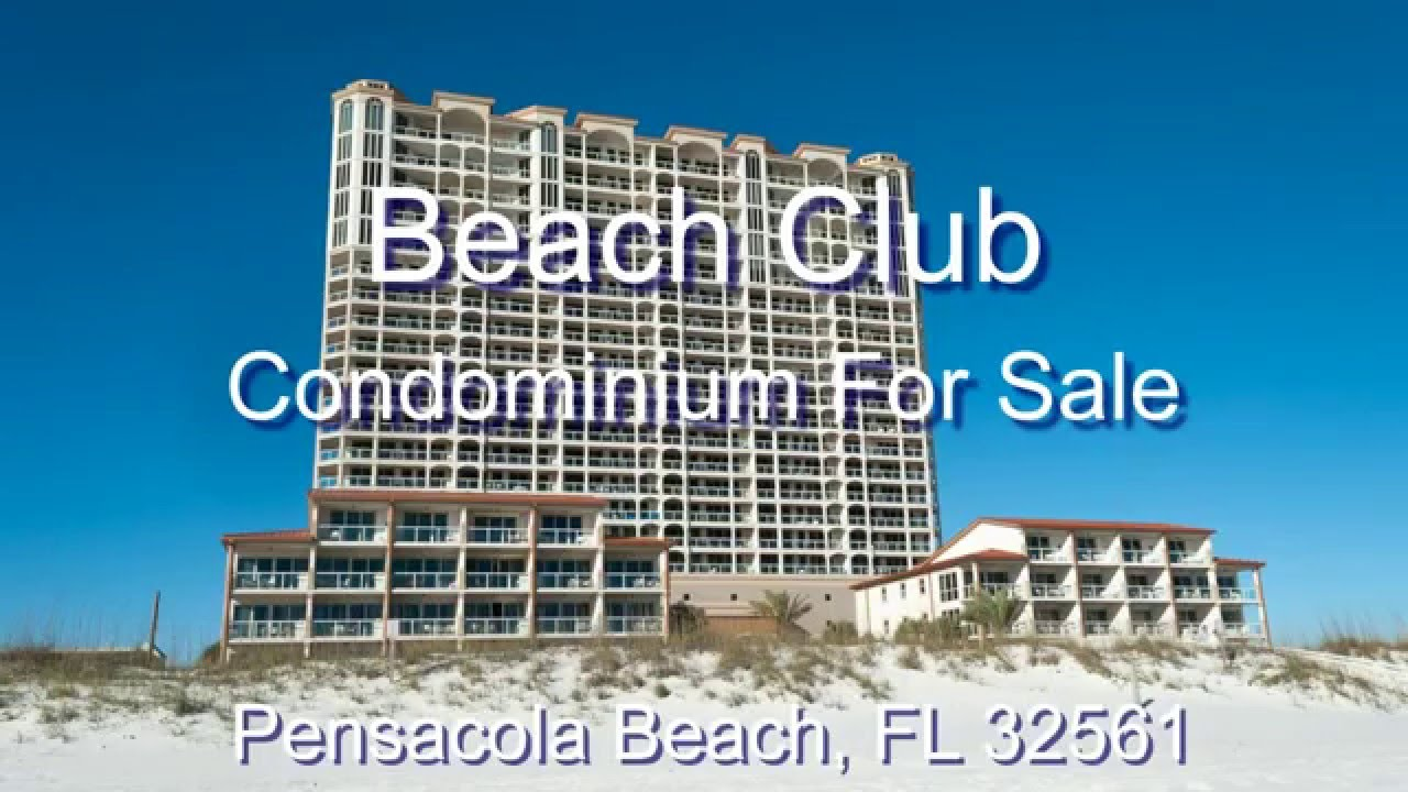 Beach Club 1404 For On Pensacola