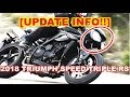 UPDATE INFO!! 2018 triumph speed triple rs Now Reveal, 2018 triumph speed triple rs review