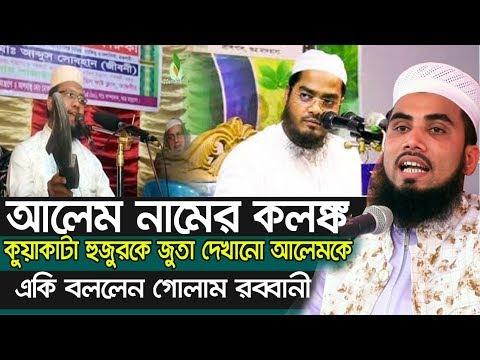আলেম নামের কলঙ্ক ! জুতা হুজুরকে একি বললেন গোলাম রব্বানী Golam Rabbani Bangla Waz 2020