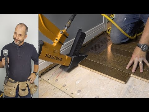 DIY How to Install Hardwood Flooring