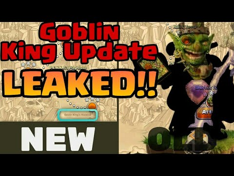 【Goblin King】Update Leaked!! In Clash Of Clans.