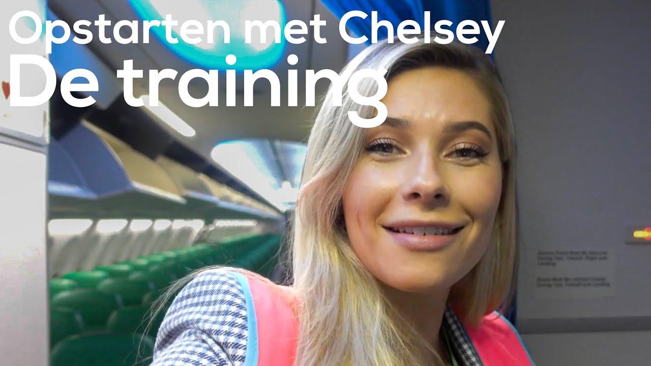 Van BLAUW naar GROEN uniform? | Opstarten met Chelsey #2 | Transavia