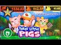 ⭐️ New - The Three Little Pigs slot machine, bonus